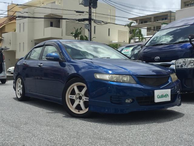 沖縄県の中古車ならアコード ユーロR RECAROシート 純正ナビ MT 社外アルミ