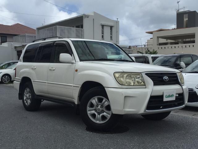 沖縄県の中古車ならランドクルーザー100 VXリミテッド Gセレクション