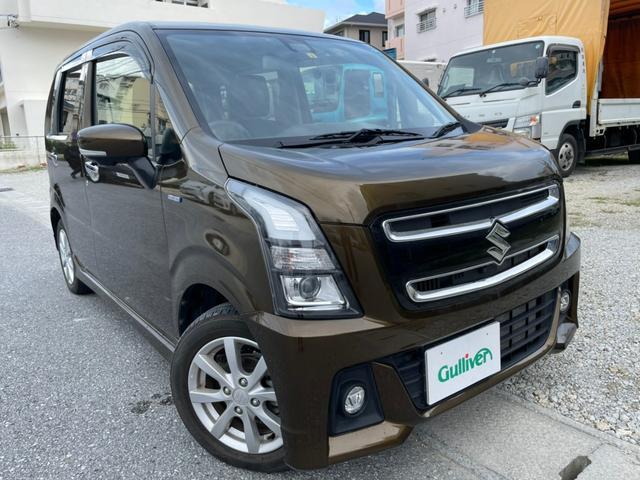 沖縄県の中古車ならワゴンRスティングレー ハイブリッドX ナビ バックカメラ 全方位カメラ Bluetooth TV USB シートヒーター ETC