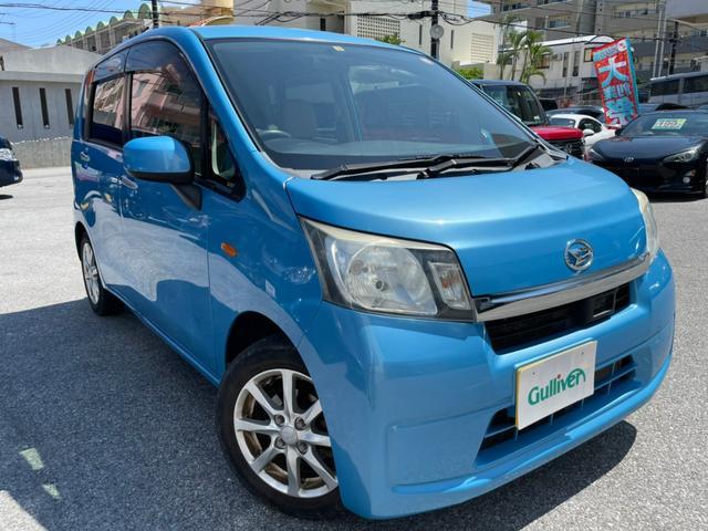 沖縄県那覇市の中古車ならムーヴ X SA プッシュスタート オートエアコン CD 電動格納ミラー スマートキー アイドリングストップ