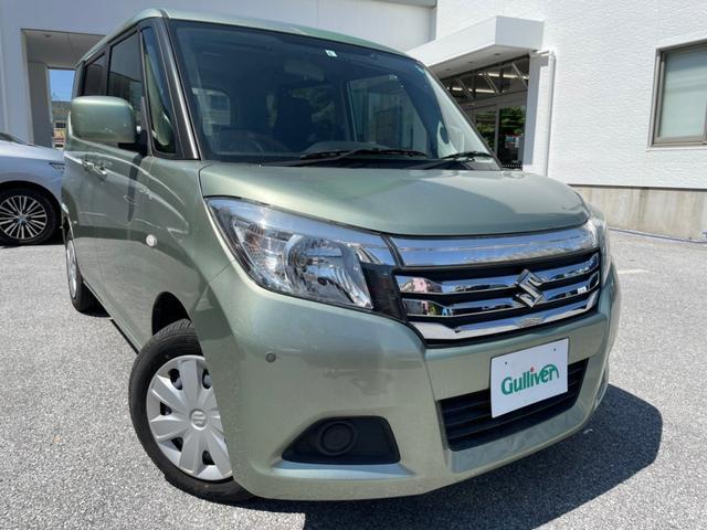 沖縄県の中古車ならソリオ G ナビ テレビ Bluetooth AM FM シートヒーター 両側スライドドア 片側電動スライドドア ETC プッシュスタート