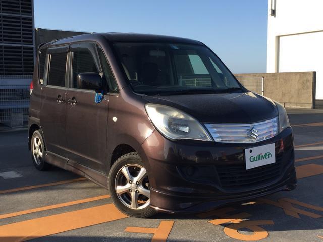 沖縄の中古車 スズキ ソリオ 車両価格 54万円 リ済別 2013(平成25)年 7.9万km ブラウン