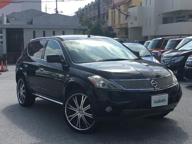 沖縄の中古車 日産 ムラーノ 車両価格 48万円 リ済別 2007(平成19)年 10.8万km スーパーブラック