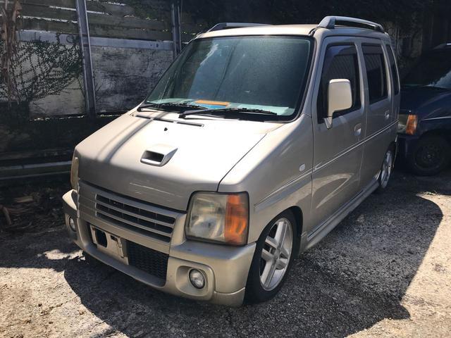 沖縄の中古車 マツダ AZワゴン 車両価格 45万円 リ済込 1997(平成9)年 8.5万km ゴールド