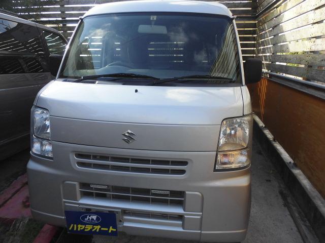 沖縄の中古車 スズキ エブリイ 車両価格 39万円 リ済込 2015(平成27)年 9.0万km シルバーM