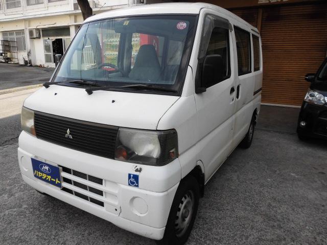 沖縄の中古車 三菱 ミニキャブバン 車両価格 16万円 リ済込 2003(平成15)年 14.3万km ホワイト