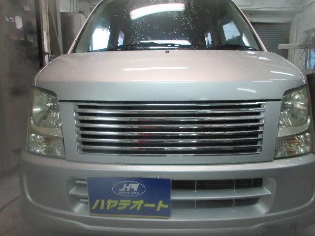 沖縄の中古車 スズキ ワゴンR 車両価格 15万円 リ済込 2006(平成18)年 8.1万km グレー
