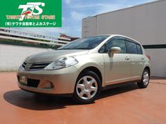 沖縄の中古車 日産 ティーダ 車両価格 63万円 リ済込 平成23年 3.6万K ゴールドM