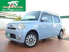 沖縄の中古車 ダイハツ ミラココア 車両価格 79万円 リ済込 平成25年 6.1万K ライトブルーM