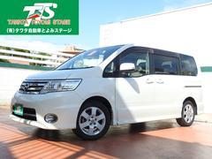 沖縄の中古車 日産 セレナ 車両価格 76万円 リ済込 平成21年 8.6万K パールホワイト