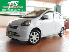 沖縄の中古車 ダイハツ ミライース 車両価格 53万円 リ済込 平成24年 6.1万K ライトブルー