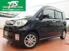 沖縄の中古車 ダイハツ タントエグゼ 車両価格 54万円 リ済込 平成22年 9.9万K ブラックM