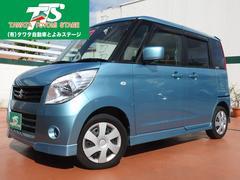 沖縄の中古車 スズキ パレット 車両価格 75万円 リ済込 平成23年 2.9万K ライトブルーM