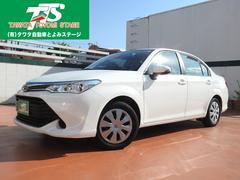 沖縄の中古車 トヨタ カローラアクシオ 車両価格 104万円 リ済込 平成28年 3.5万K ホワイト