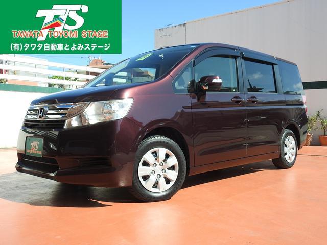 沖縄の中古車 ホンダ ステップワゴン 車両価格 83万円 リ済込 平成22年 9.0万km ワインM
