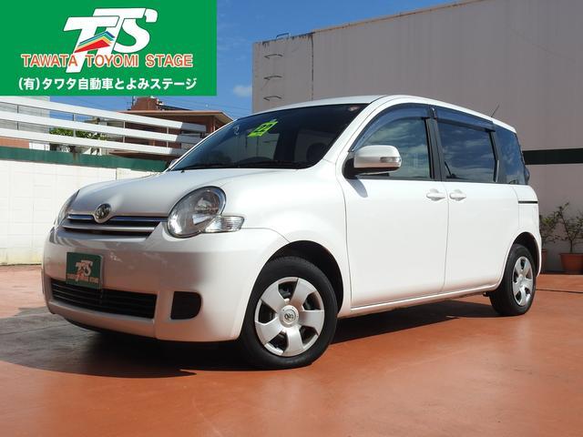 沖縄の中古車 トヨタ シエンタ 車両価格 64万円 リ済込 平成22年 6.8万km パールホワイト