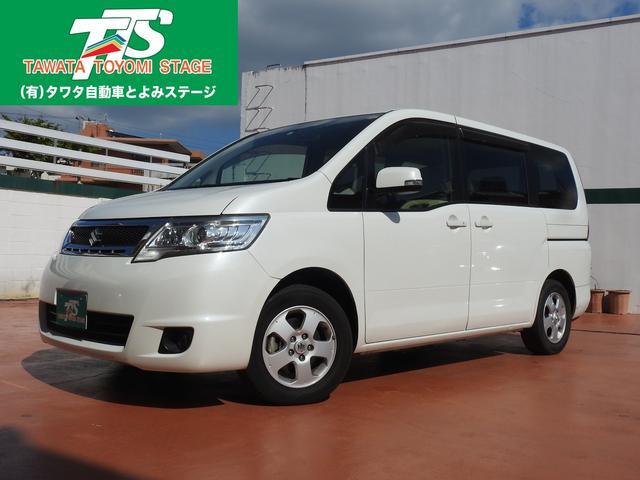 沖縄の中古車 スズキ ランディ 車両価格 83万円 リ済込 平成22年 7.2万km パールホワイト