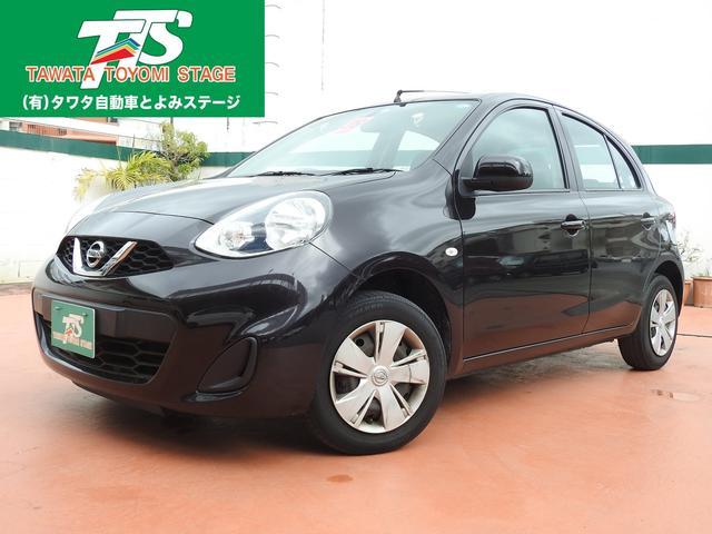 沖縄の中古車 日産 マーチ 車両価格 74万円 リ済込 平成28年 4.5万km ダークパープルM