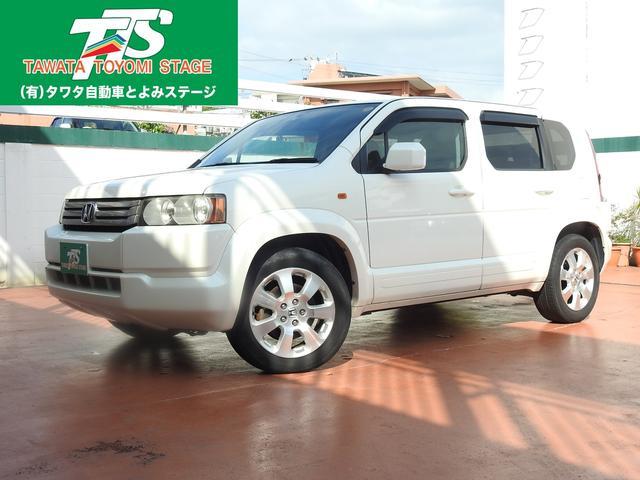 沖縄の中古車 ホンダ クロスロード 車両価格 64万円 リ済込 2007(平成19)年 9.9万km パールホワイト