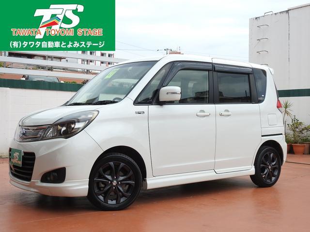 沖縄の中古車 スズキ ソリオ 車両価格 88万円 リ済込 2015(平成27)年 8.3万km パールホワイト
