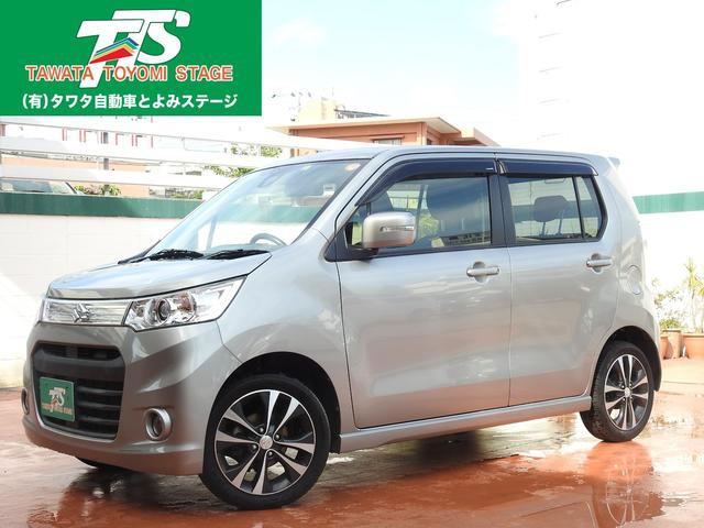 沖縄の中古車 スズキ ワゴンRスティングレー 車両価格 79万円 リ済込 2014(平成26)年 7.1万km グレーM