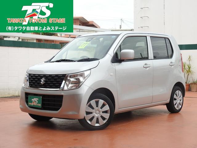 沖縄の中古車 スズキ ワゴンR 車両価格 69万円 リ済込 2015(平成27)年 6.1万km シルバーM