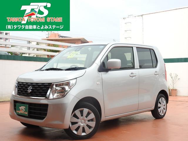 沖縄の中古車 スズキ ワゴンR 車両価格 69万円 リ済込 2015(平成27)年 6.2万km シルバーM