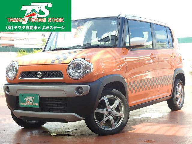 沖縄の中古車 スズキ ハスラー 車両価格 99万円 リ済込 2014(平成26)年 7.0万km オレンジII