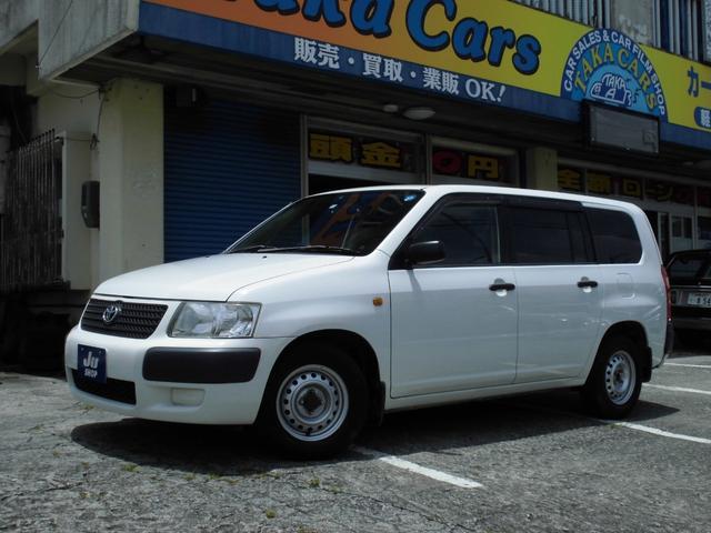 沖縄の中古車 トヨタ サクシードバン 車両価格 28万円 リ済込 2008(平成20)年 11.4万km ホワイト