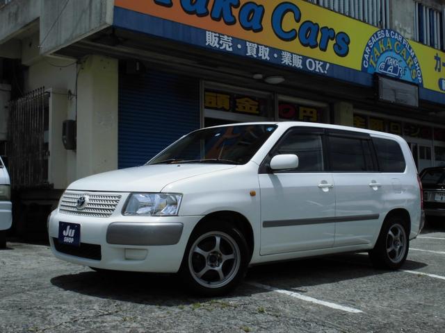 沖縄の中古車 トヨタ サクシードワゴン 車両価格 29万円 リ済込 2008(平成20)年 15.0万km ホワイト