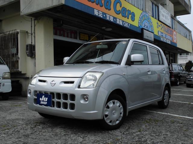 沖縄の中古車 日産 ピノ 車両価格 19万円 リ済込 2009(平成21)年 13.4万km シルバー