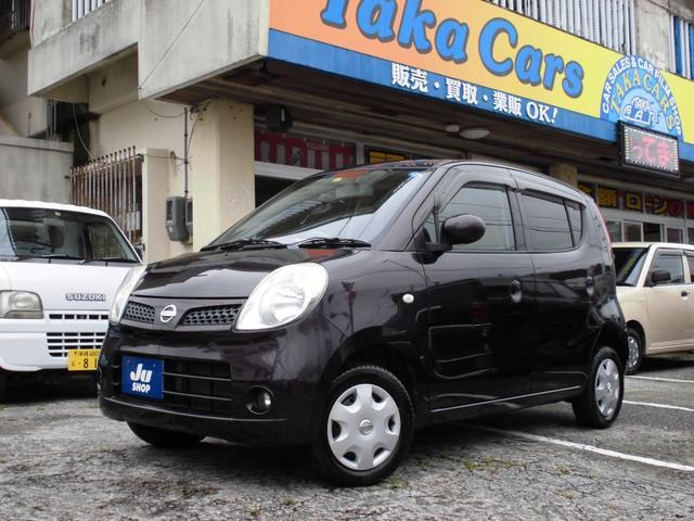 沖縄の中古車 日産 モコ 車両価格 33万円 リ済込 2010(平成22)年 6.5万km ダークパープル