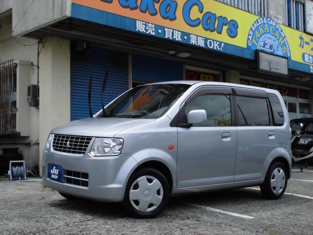 沖縄の中古車 三菱 eKワゴン 車両価格 24万円 リ済込 2011(平成23)年 9.1万km シルバー