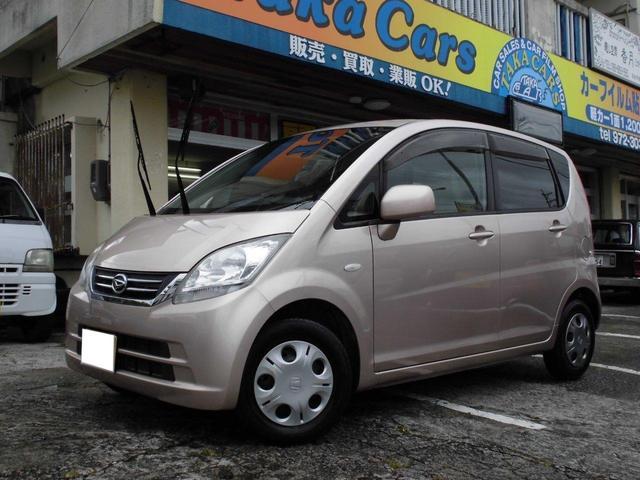沖縄の中古車 ダイハツ ムーヴ 車両価格 23万円 リ済込 2009(平成21)年 12.8万km ピンクM