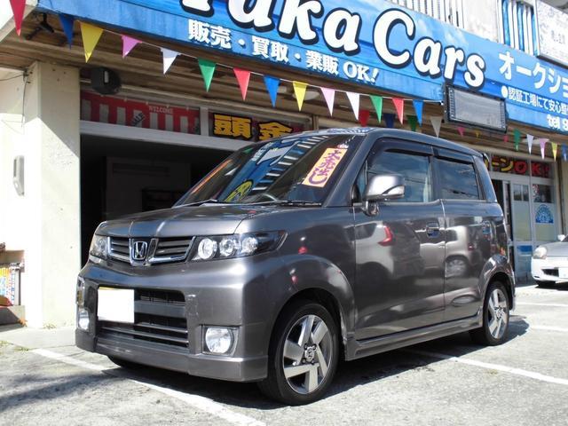 沖縄の中古車 ホンダ ゼストスパーク 車両価格 35万円 リ済込 2010(平成22)年 8.9万km ガンM