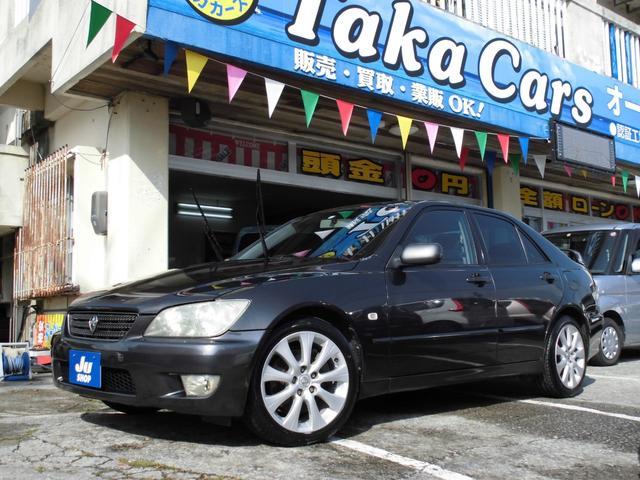 沖縄の中古車 トヨタ アルテッツァ 車両価格 39万円 リ済込 2002(平成14)年 16.0万km ガンM