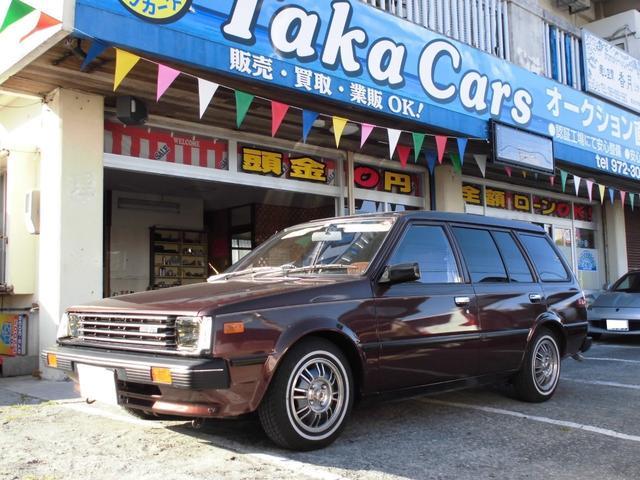 沖縄県うるま市の中古車ならADバン VB11 ローダウン サンルーフ DATSUNホイール