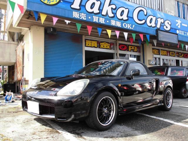 沖縄県うるま市の中古車ならMR-S 5speed 16インチアルミ ETC