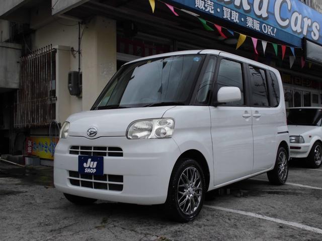 沖縄県の中古車ならタント L スライドドア CVT ABS 15インチアルミ