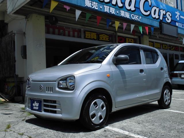 沖縄の中古車 スズキ アルト 車両価格 29万円 リ済込 2015(平成27)年 11.7万km シルバー