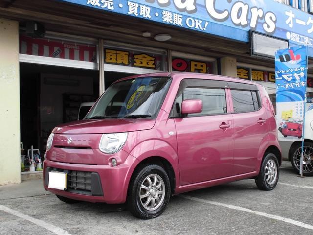 沖縄の中古車 スズキ MRワゴン 車両価格 39万円 リ済込 2012(平成24)年 9.7万km ピンクM