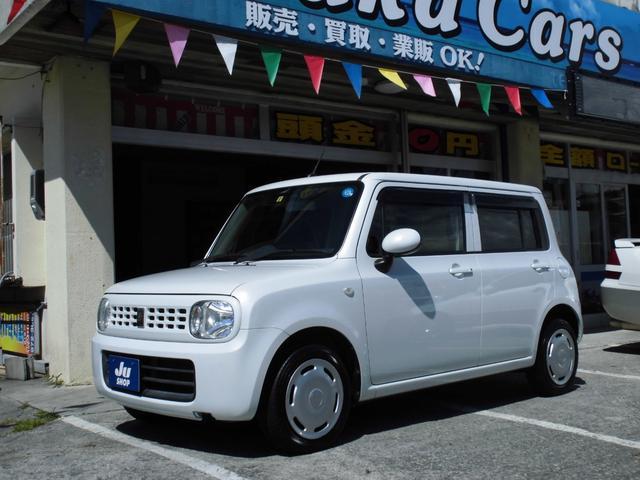 沖縄の中古車 スズキ アルトラパン 車両価格 39万円 リ済込 2013(平成25)年 11.6万km パールホワイト