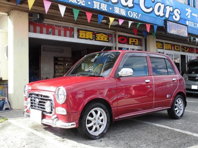 沖縄の中古車 ダイハツ ミラジーノ 車両価格 45万円 リ済込 2003(平成15)年 10.1万km ワインM