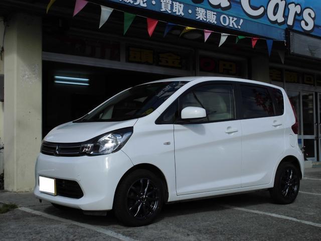 沖縄の中古車 三菱 eKワゴン 車両価格 44万円 リ済込 2014(平成26)年 10.5万km ホワイト