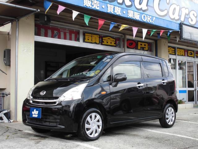 沖縄の中古車 ダイハツ ムーヴ 車両価格 28万円 リ済込 2012(平成24)年 10.0万km ブラックM