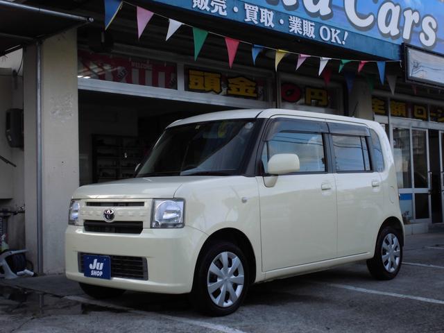 沖縄の中古車 トヨタ ピクシススペース 車両価格 33万円 リ済込 2013(平成25)年 10.5万km ライトイエロー