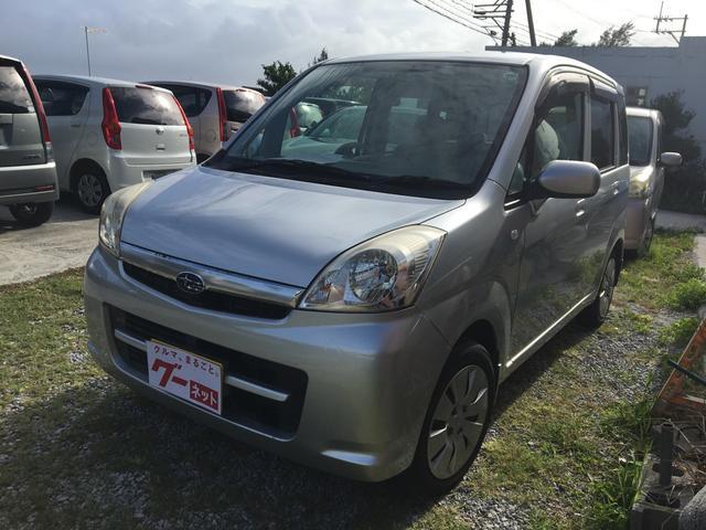 沖縄の中古車 スバル ステラ 車両価格 29万円 リ済込 平成19年 4.0万km シルバー