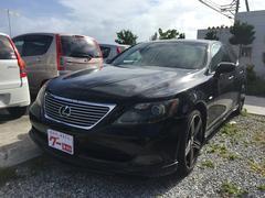 沖縄の中古車 レクサス LS 車両価格 140万円 リ済別 平成19年 7.9万K ブラック