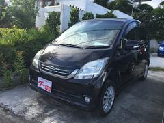 沖縄の中古車 ダイハツ ムーヴ 車両価格 36万円 リ済込 平成22年 6.1万K ブラック