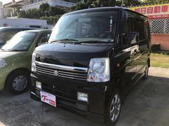 沖縄の中古車 スズキ エブリイワゴン 車両価格 39万円 リ済込 平成18年 14.0万K ブラック